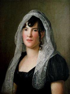 Donna in Lutto. Scuola Appiani, 1809. Collezione Privata.