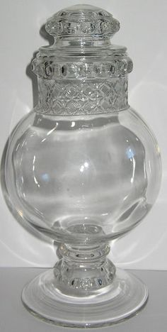 dakota apothecary candy jar drug store antique footed pedestal glass 11 34 sold antique furniture apothecary general store candy