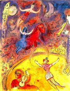 "Marc Chagall Circus Paintings | 600044: MARC CHAGALL ""CIRCUS"" : Lot 600044"