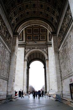 Arc de Triomphe by BumbyFoto, via Flickr