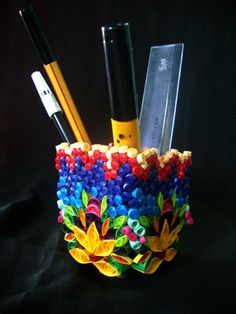 awesome Pen Stand !!!!!! having beautiful colours