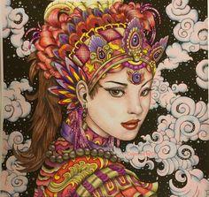 Fantasia by Nicholas Filbert. Done with prismas http://amzn.to/2rRQjGT