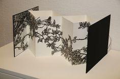 Accordion Book, Buch Design, Book Page Art, Pop Up, A Level Art, Zine, Book Folding, Handmade Books, Photo Projects