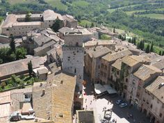 San Gimignano outside Florence, Italy