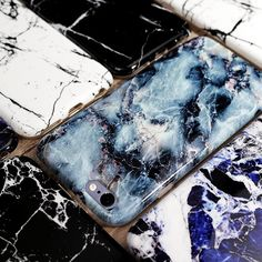 Faux Marble iPhone Case Compatible with Apple iPhone 6/6s and iPhone 6 Plus/6s Plus.Made of soft rubber, 3D full printing Soft edge is higher than the screen to protect the screen from damage.