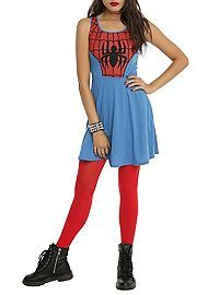 HOTTOPIC.COM - Marvel Universe Spider-Man Costume Dress