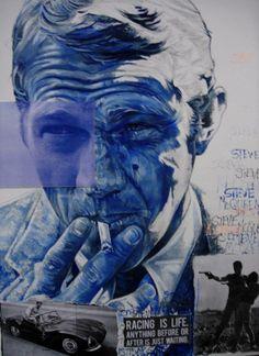 Steve McQueen par Natacha Toutain