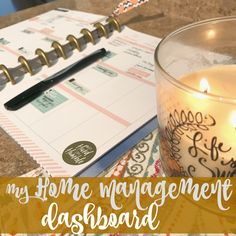 My Home Management Dashboard – Come Home For Comfort
