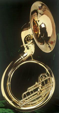 Sousaphone  #LardysWishlists #Horn ~ https://www.pinterest.com/lardyfatboy/ ~