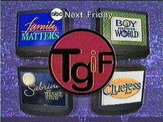 TGIF. Boy,  THOSE were the days.
