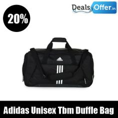 Adidas Unisex Black Tbm Duffle Bag @ 20% Off