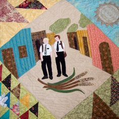 Looking for your next project? You're going to love Missionaries Applique Block of the Month by designer Audrey n Diane. - via @Craftsy