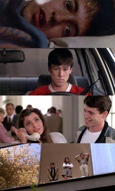 Ferris Bueller's Day Off, 1986 (dir. John Hughes) By Vexate Ferris Bueller, 80s Movies, Movie Tv, Farris Buellers Day Off, Movies Showing, Movies And Tv Shows, Life Moves Pretty Fast, Movie Shots, Funny Films