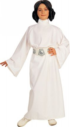 Princess Leia Kids Costume