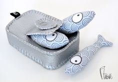 Tinned sardine - Dinette by Ptibas - Shop & Kitchen - Toys - DaWanda