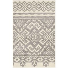 Adirondack Ivory/Silver 2 ft. 6 in. x 4 ft. Area Rug