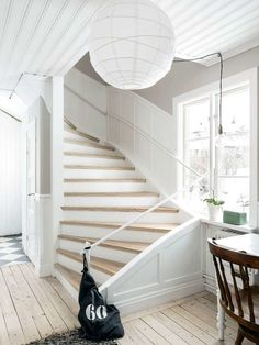 When building stairs make them just a bit wider and they'll be gorgeous! Closet Storage Systems, Toy Storage Solutions, Storage Spaces, Cottage Stairs, Farmhouse Stairs, Building Stairs, Exterior Stairs, Loft Stairs, Sweet Home