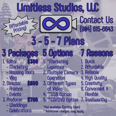 As 2016 comes to a close, Limitless Studios, LLC has come up with new Plans starting January Some things still need to be finalized. We will be adding some key elements: -Marketing. Affordable Housing, Real Estate, Marketing, How To Plan, Website, Studio, Create, Blog, Real Estates