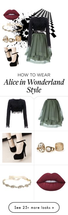 """Untitled #48"" by chelocean93 on Polyvore featuring Antonio Marras, Lime Crime, Stone_Cold_Fox and Marchesa"