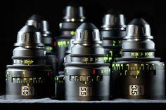 Hawk Anamorphic Lens set .