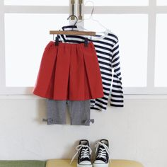 着回し抜群!女の子のシンプルでかわいいプリーツスカートの作り方(子ども服)   ぬくもり