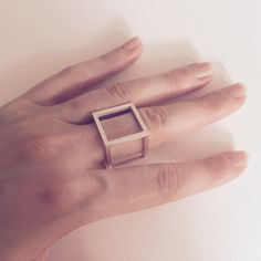 Form E6S Ring by Phoebe Joel | http://adornmilk.com