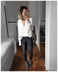 Audrey sur Instagram: Comme dirait @azzed, s'habiller pareil mais avec des…