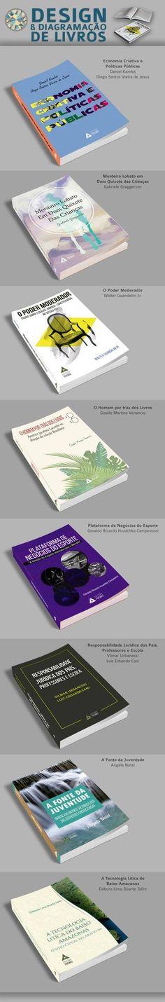 Layout de capas e diagramação de livros. Capa - Adri Guimarães; Diagramação - Andre Camargo