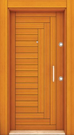 Top 50 Modern Wooden Door Design Ideas You Want To Choose Them For Your Home - E . Top 50 Modern Wooden Door Design Ideas You Want To Choose Them For Your Home - Engineering DiscoveriesIndividual entrance doors or room doors made of . Flush Door Design, Door Gate Design, Bedroom Door Design, Door Design Interior, House Main Door Design, Wooden Front Door Design, Wooden Front Doors, Kerala, Modern Wooden Doors