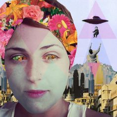 #collage #art #moodboard #ovni #colors