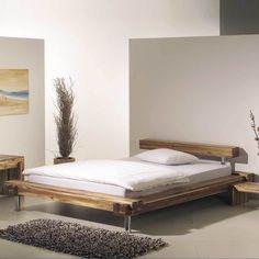 Designerbett aus Akazie Massivholz Gewachst Jetzt bestellen unter ...