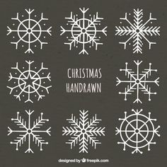 Free vector hand drawn snowflakes on chalkboard # 31281 - x-mas - # . - Free vector hand drawn snowflakes on chalkboard # 31281 – x-mas – - Christmas Doodles, Christmas Art, Winter Christmas, Painting Snowflakes, Hilograma Ideas, Christmas Window Decorations, Christmas Window Display, Chalk Pens, Stickers