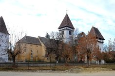 Fortified church of Agnita, Transilvania, Romania