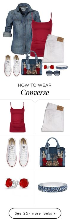"""Untitled #977"" by gallant81 on Polyvore featuring Full Tilt, Abercrombie & Fitch, Converse, Alexander McQueen, Bling Jewelry, Effy Jewelry and Chloé"