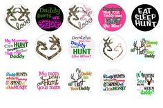free bottle cap images | Free Stuff: Hunting Themed Bottle Cap Image Sheet - Listia.com ...
