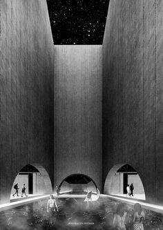 Imagen 3 de 36 de la galería de Paisajes arquetípicos: conoce los 10 proyectos del workshop de Barozzi/Veiga en Chile. [E1] Universidad de las Américas. Image Cortesía de Facultad de Arquitectura USS