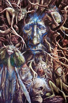 Fairy man by Brian Froud