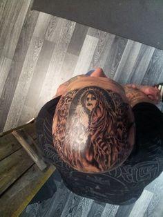 Head tattoo for my good old friend..