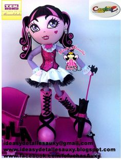 Ideas y detalles Auxy: FOFUCHA DRACULAURA MONSTER HIGH