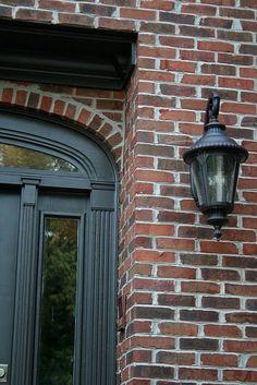 Exterior Paint Colors Brown Brick – Home Interior and Design Exterior Trim, House Paint Exterior, Exterior Paint Colors, Exterior House Colors, Paint Colors For Home, Exterior Doors, Brown Brick Exterior, Diy Exterior, House Siding
