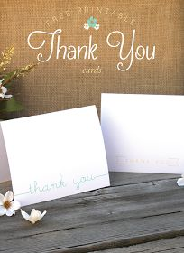 Designs By Miss Mandee: Charming 'Thank You' Cards