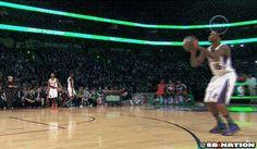 NBA Slam Dunk Contest 2014: McLemore!!