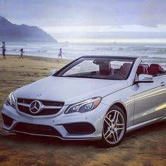 California dreamin' on such a winter's day. #soverycold #EClass #Cabriolet #mercedes #benz #instacar