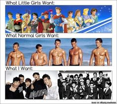 Oh yeah! Who cares about shirtless guys when you can have Koreans?!?! #EXOtic #forever