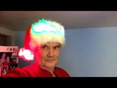 Jeff's latest Christmas Hat - YouTube