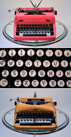 vintage typewriters, I want one so much!