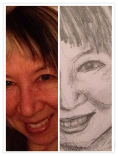 Day 3 #selfieselfself July 20,2015 Late drawing  busy day tired but happy.