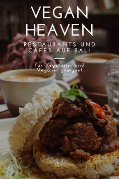 Foodies aufgepasst! Hier findet ihr die besten Cafés und Restaurants auf Bali. Ein Traum für Vegetarier und Veganer! Bali, Grains, Restaurants, Rice, Meat, Food, Vegetarian, Vegans, Essen