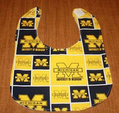 Michigan Wolverines Bib!