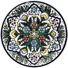 Dinnerware Pattern 1 ♥️♣️♣️Talavera Mexican Pottery : More At FOSTERGINGER @ Pinterest ♣️